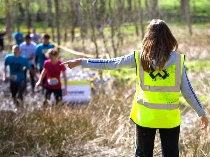 Motivaciones para ser voluntario en carrera de running