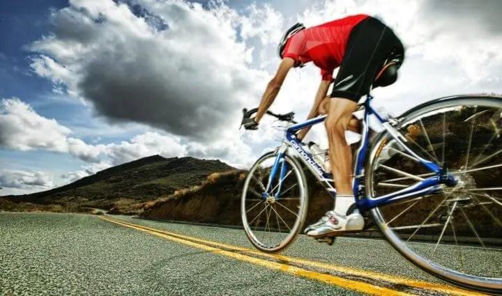 Cadencia de ciclismo alta