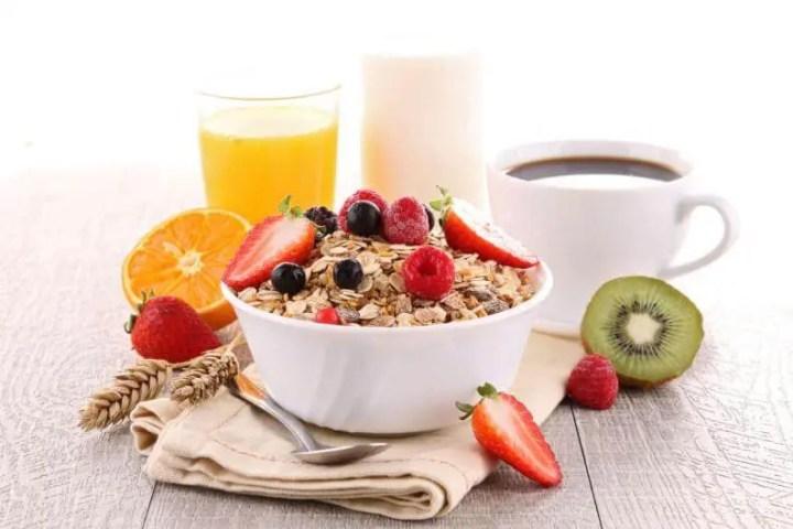 Desayuno nutritivo y saludable