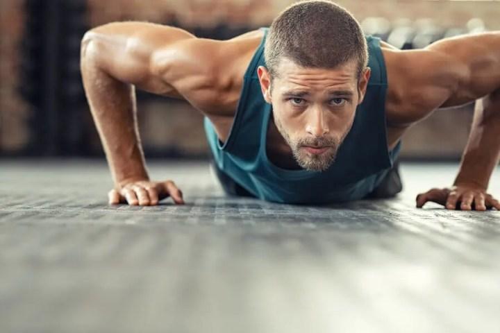 Rutina de flexiones para ganar potencia