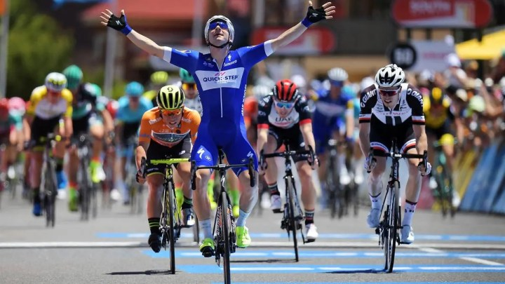 Entrenamiento de ciclistas para ganar sprints