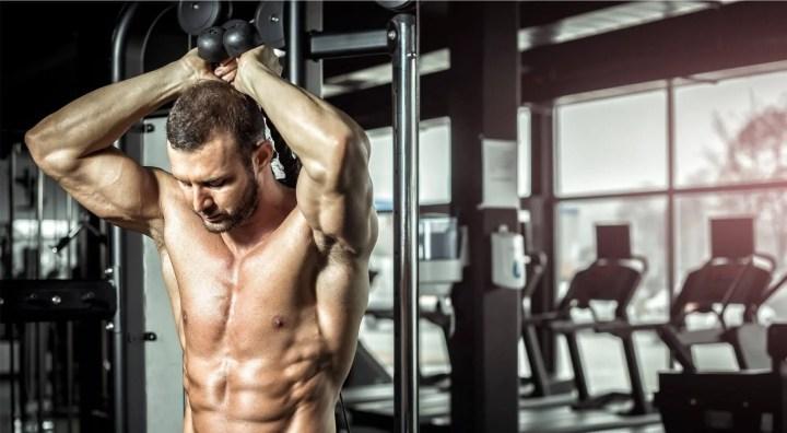 Movimientos más efectivos para trabajar el tríceps