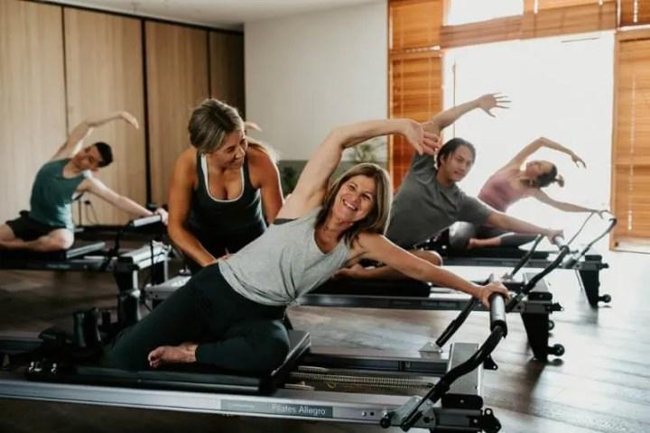 Entrenamiento para el core con el Pilates Reformer