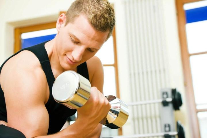Errores típicos del curl de bíceps