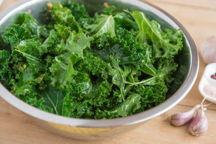 Beneficios nutricionales de la col rizada