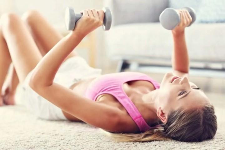 Qué ejercicios compuestos puedes hacer en casa