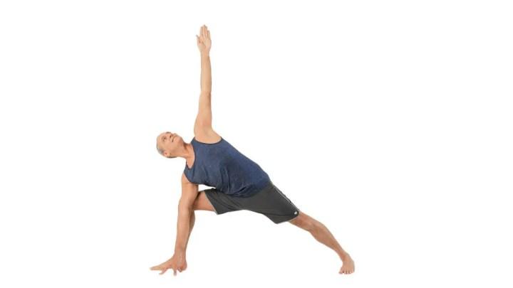 Cómo ejecutar la pose del ángulo lateral
