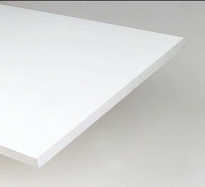 plateau melamine blanc 18x800x1200mm