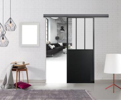 kit rail avec porte style atelier 83 cm optimum
