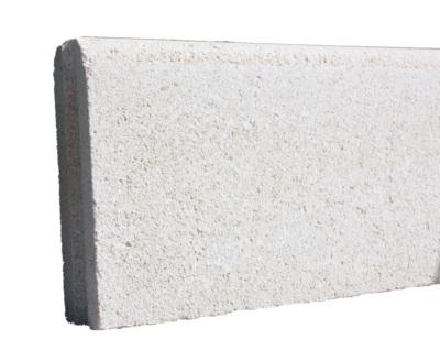bordure de jardin droite beton pierre 50x19x5cm fabemi