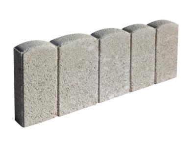 bordure de jardin palissade beton ton pierre 50x20x5cm ggi