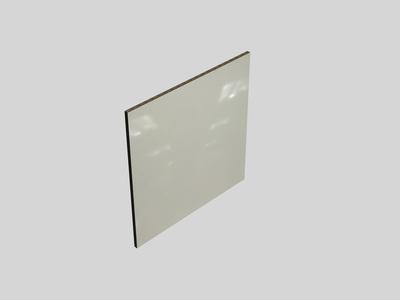 credence blanc brillant l 3000 x l 640 x ep 9 mm fab
