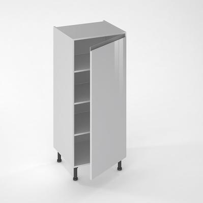 facade de cuisine 1 porte jade nuage 130 x 60 cm pour meuble colonne