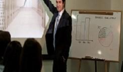 Presentation of a sales pitch
