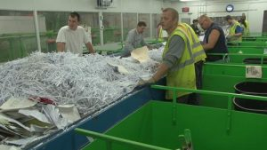 Paper recycling business