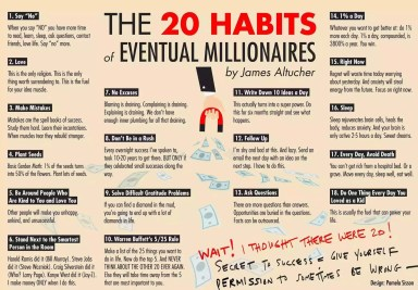 Mistakes eventual millionaires do not do