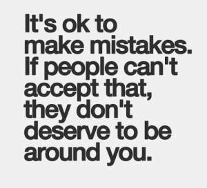 Quote about making mistake