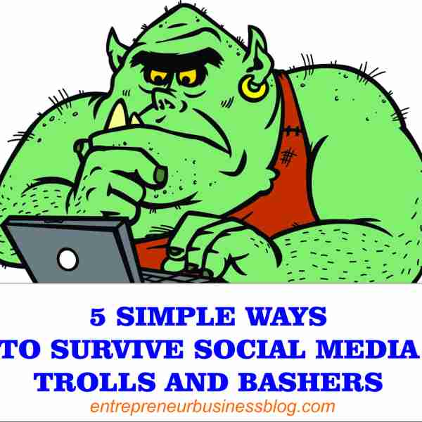 deal with social media trolls and bashers