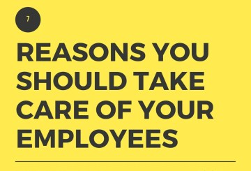 Take care of your employees