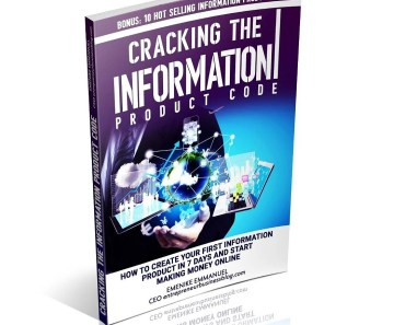 How to create your first information product