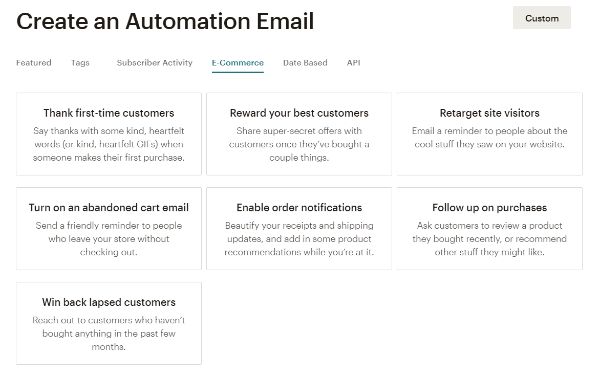 Create sizzling automated emails to increase site conversion