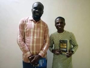 Emenike Emmanuel with Ronald Nzimora