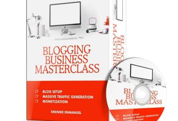 Blogging tutorial, Blogging business, Blogging business masterclass, Blogging training, multimillion naira blogger