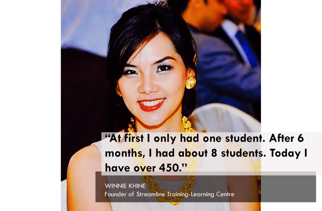 From 1 to 450 Students, How Winnie Khine Started a School in Myanmar with No Capital