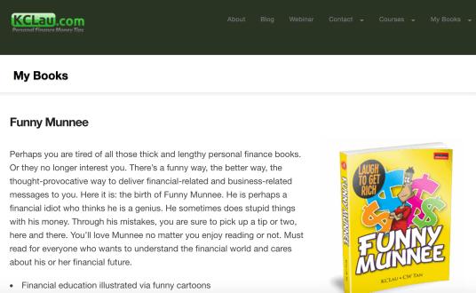 KCLau.com books