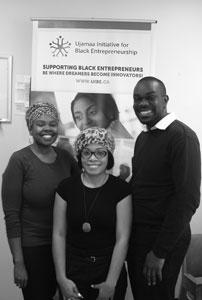 Supporting Black entrepreneurs (by Joel Ceausu – The Suburban)