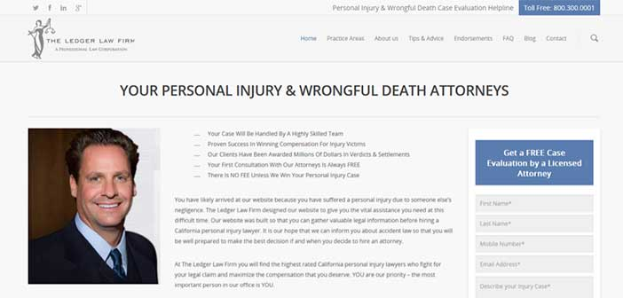 Injury Lawyer Succeeds With In-House Marketing, Landing Pages, & Rapid Response