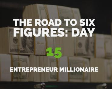 The Road to Six Figures Challenge Day 15