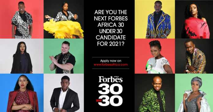 Forbes Africa's 30 Under 30