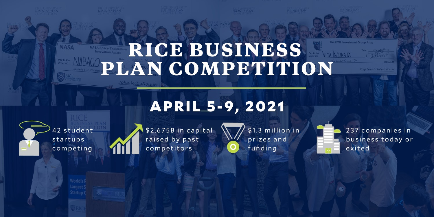 Rice business plan competition results ucthesis latex thesis theorem