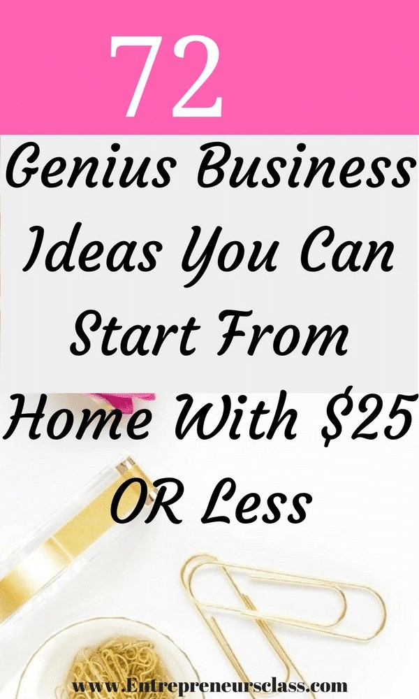 72 best home business ideas to start while working full time
