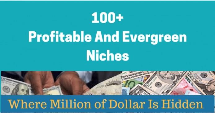 profitable niches