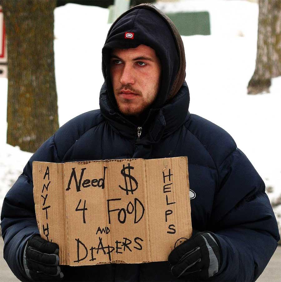 Finland Jobless medborgare