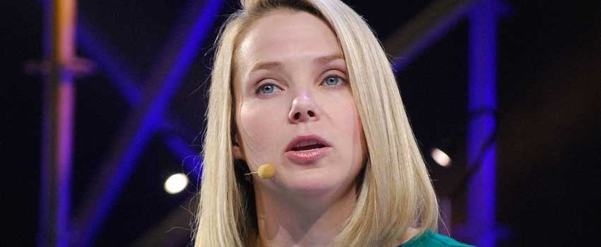 CEO Yahoo Marissa Mayer