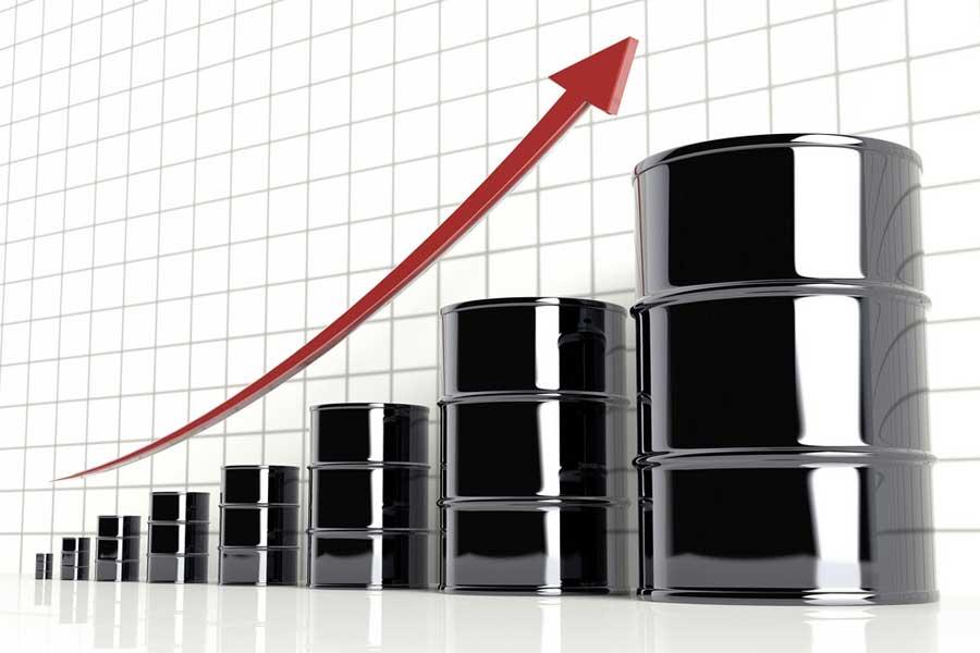 minyak mentah-harga