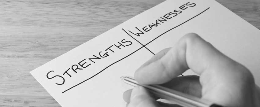 Fortalezas y debilidades de Empresas Pequeña