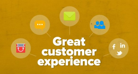 great customer experience on your website