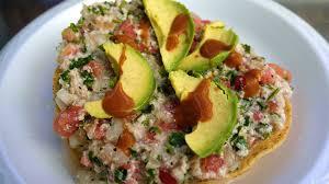 Ceviche de pescado estilo Colima