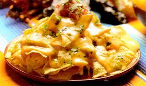 Nachos de queso
