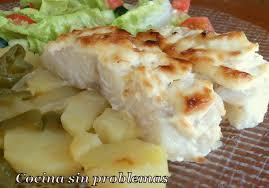 Bacalao con Patatas y Mayonesa
