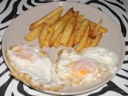huevos con patatas