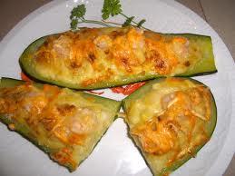 calabacin con pan rallado y bechamel