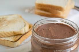 Crema de cacao con avellanas sin azúcar