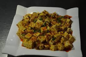 Tofu frito picante