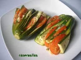 Abanicos tricolores de calabaza en papillote con salsa de carne