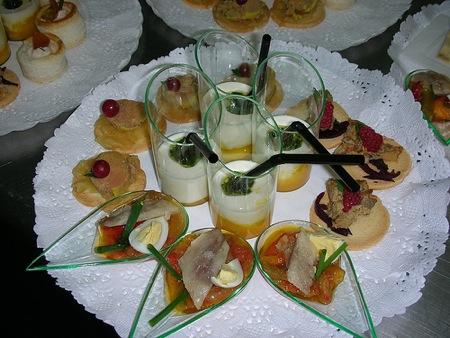 Surtido de aperitivos